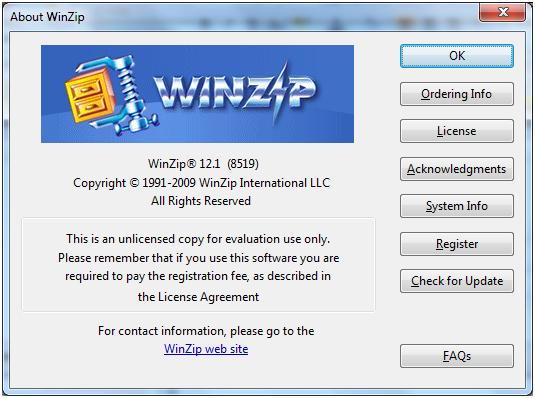 Winzip, WinRar, 7zip, WinAce rematch | Expertester