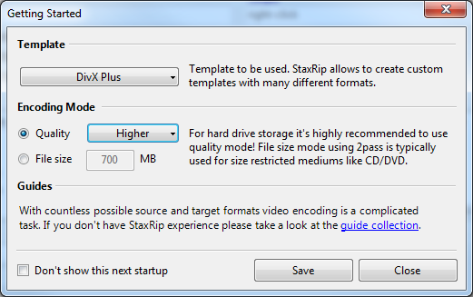 How to compress your file using StaxRip (H264) | Expertester